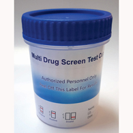 10 Panel (AMP, COC, MET, MTD, OXY, THC, and More) Drug Test Cup-100/Case