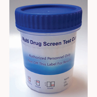12 Panel (AMP, COC, MET, MTD, OXY, THC, and More) Drug Test Cup-100/Box