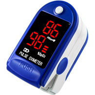 3B Products PO2BLU Pulse Oximeter-Blue