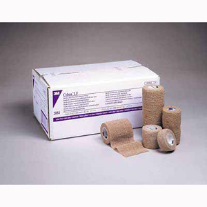 3M 2086 Coban Latex-Free Self-Adherent Wrap-12/Case
