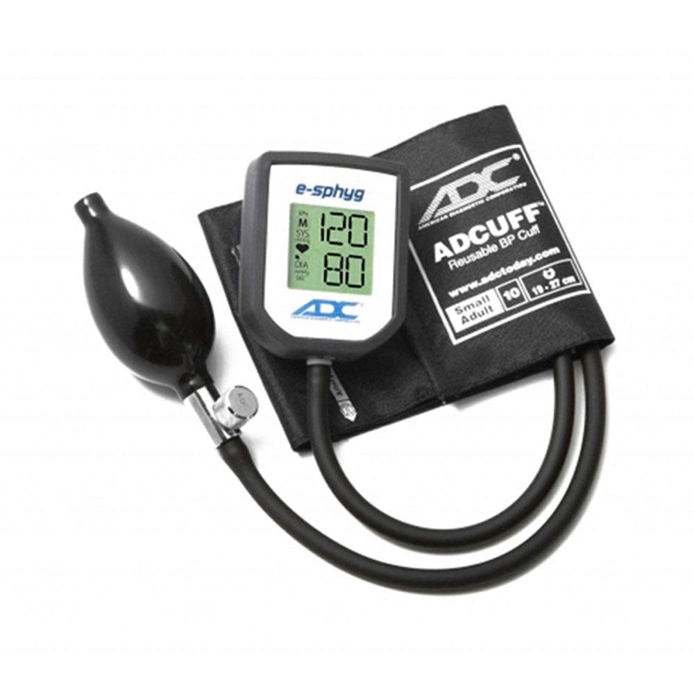 ADC 7002-10SABK DIAGNOSTIX E-Sphyg Blk Aneroid Small Adult Sphygmomanometer