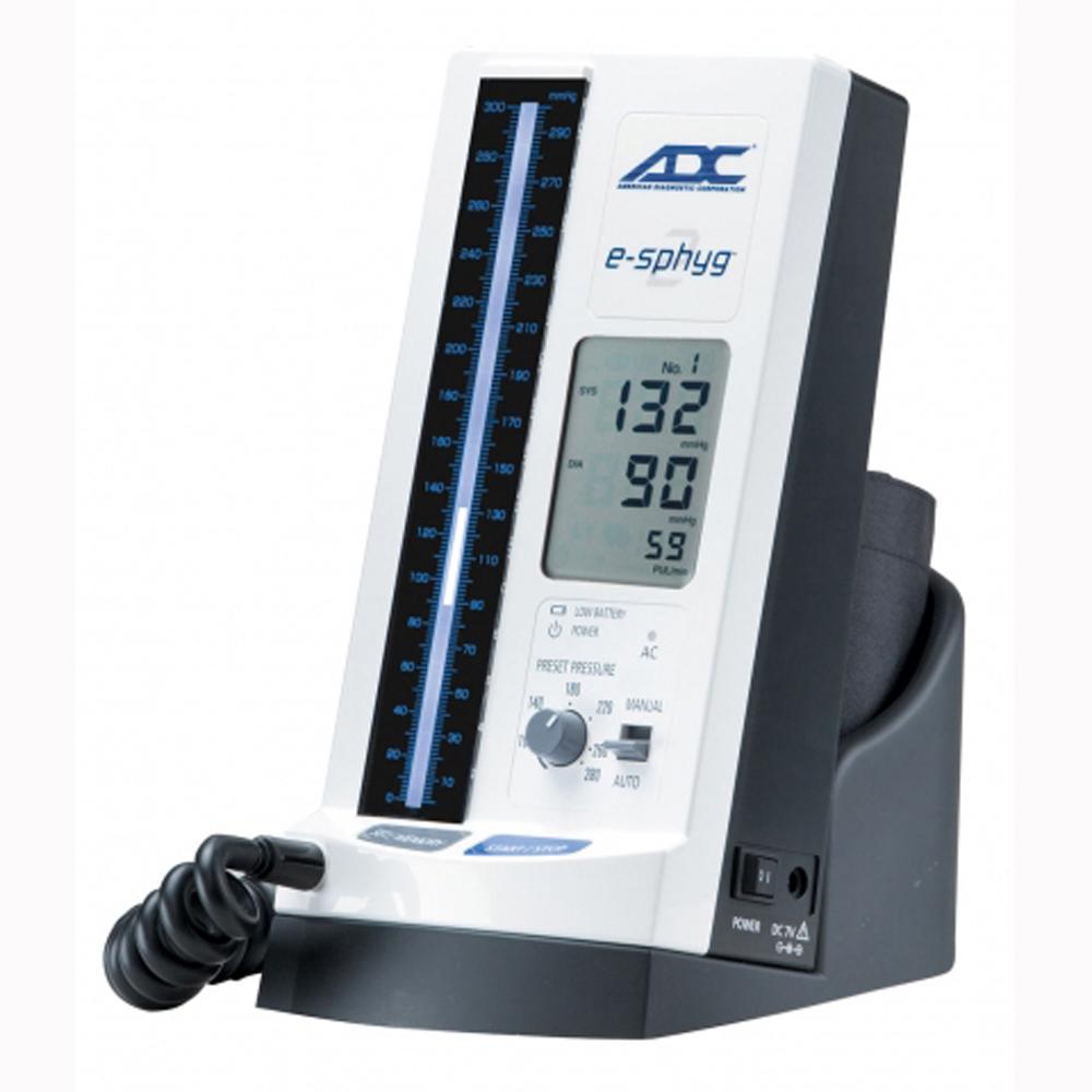 ADC 9002 DIAGNOSTIX e-sphyg 2 Desk, Multicuff, Standard colo