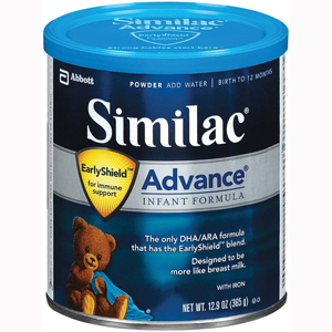 Abbott 55957 Similac Advance-Infant Formula-6/Case