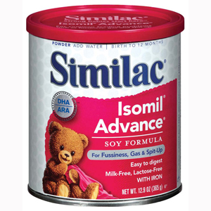 Abbott 55963 Similac Isomil Soy Ready to Feed Infant Formula-6/Case