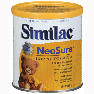 Abbott 57430 Similac Expert Care Neosure Infant Formula-6/Case