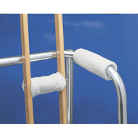 Ableware 703210000 Madda-Comfort Walker and Crutch Hand Pads