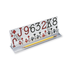 "Ableware 712524515 Playing Card Holder-15"" w/ Low Vision Playing Cards"