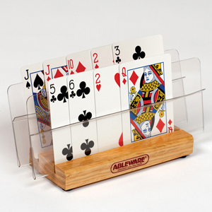 Ableware 712540112 Playing Card Holder