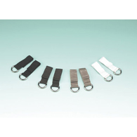 Ableware 738170041 Wear Ease Shoe Fastener Kit-Brown-4/Bag