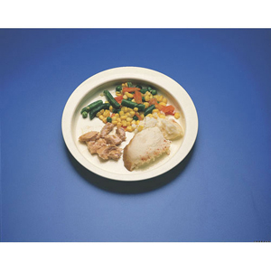 Ableware 745290001 Round-Up Plate by Maddak