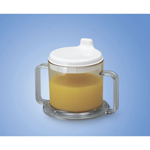 Ableware 745960000 Transparent Mug with Drinking Spout