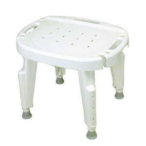 Ableware 727142001/727142121 Bath Safe Adjustable Shower Seat
