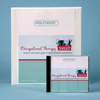 Ableware 718170001/718170011 Occupational Therapy Toolkit-CD Version
