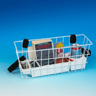 Ableware 703192000/703192002 Economy Walker Basket w/ Hook& Loop