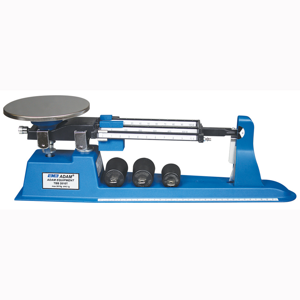 a review of triple beam balance A triple beam balance scale is relatively inexpensive and needs no electricity, but it can measure weight with a high degree of accuracy for that reason, laboratory workers, doctors or anyone who requires a reliable, precise weighing device may use the scale.