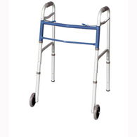 Apex Carex FGA87977-0000 Classics Dual Button Walker with Wheels