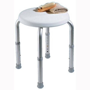 Apex Carex FGB60011-0000 Compact Round Shower Stool