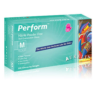 Aurelia Perform Nitrile Exam Gloves-200/Box