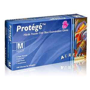 Aurelia Protege Stretch Nitrile Exam Gloves-Box Quantities