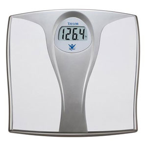 Biggest Loser 7335BL Lithium Electronic Digital Bath Scale