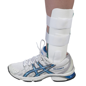 Bilt Rite 10-22061 Airgel Ankle Brace-Regular-White