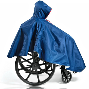 CareActive 9661-0 Wheelchair Winter Ponchos