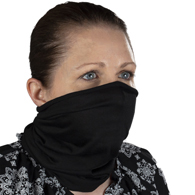 Celeste Stein Buff Face Cover Solid Black