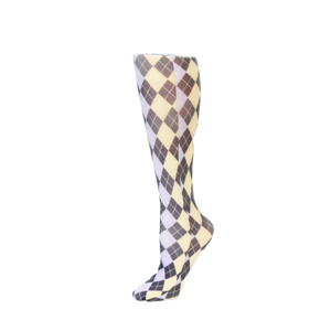 Celeste Stein Womens Compression Sock-Pastel Abstract