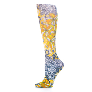 Celeste Stein Womens Compression Sock-Gina's Flowers