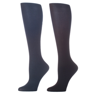 Celeste Stein Compression Sock-Navy Black (2 Pack)