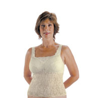 Classique 733 Post Mastectomy Fashion Camisole-Ivory-36A