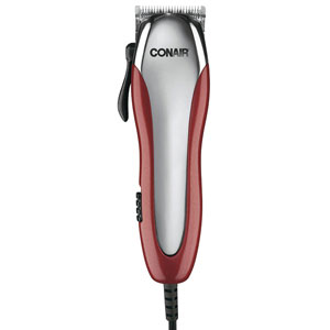 Conair HC221RGB Ultra Cut 23-Piece Haircut Kit with Detachable Blades