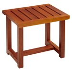 Conair PTB6 Teak Spa Bench