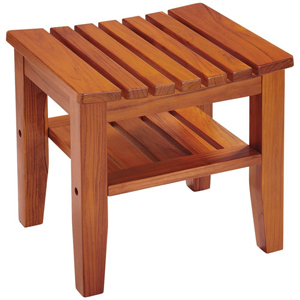 Conair PTB7 Teak Spa Bench