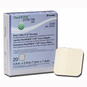 Convatec 187902 DuoDERM Extra Thin Dressing-10/Box