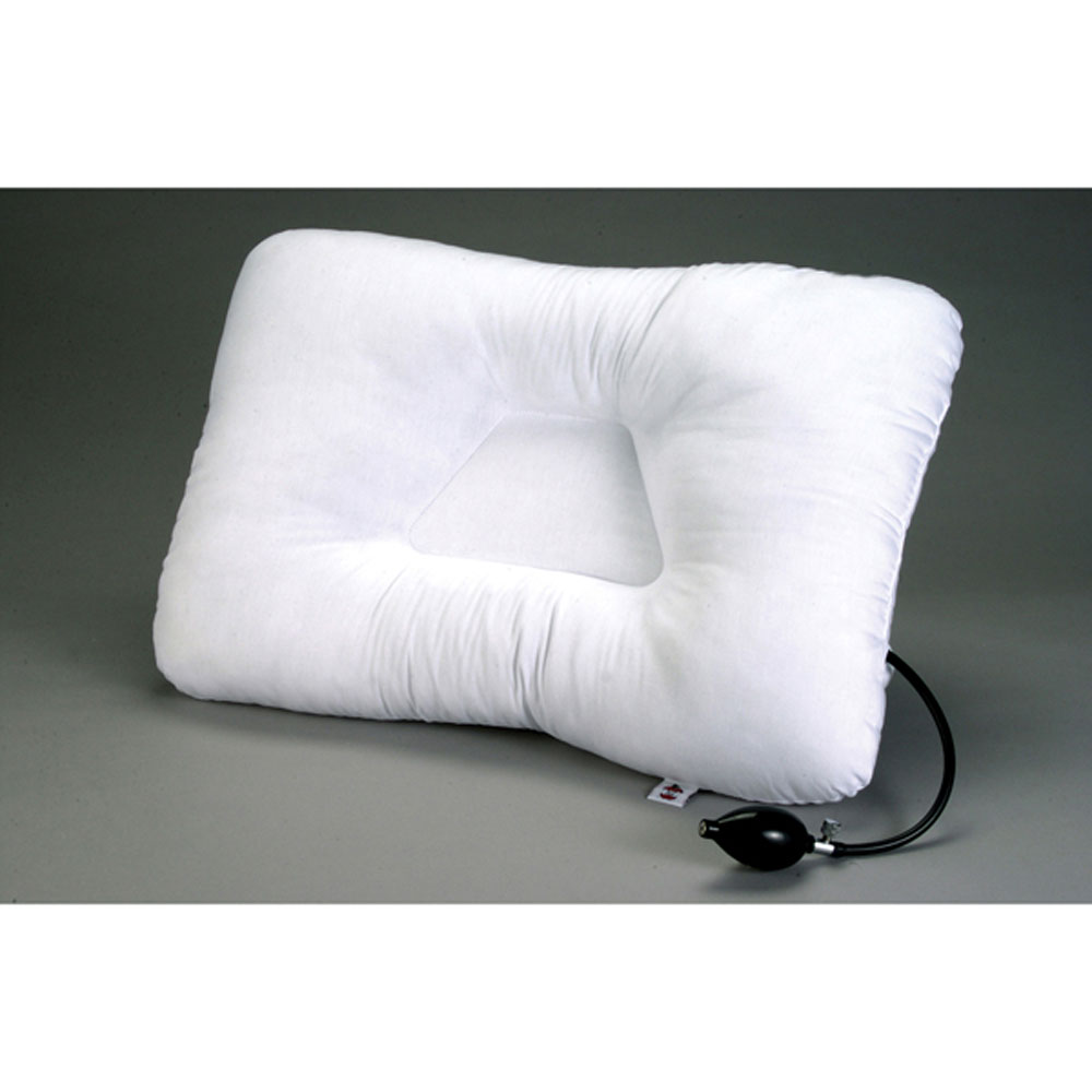 Adjustable Beds For Neck Pain : Core products air adjustable pillow