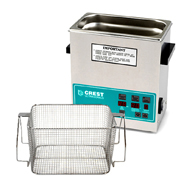 Crest CP1100 3.25 Gallon Ultrasonic Cleaner with Mesh Basket