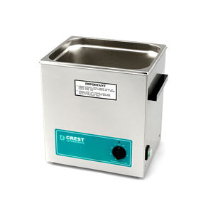 Crest CP1100T Ultrasonic Cleaner with Analog Timer-3.25 Gallon