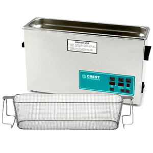Crest CP1200 2.5 Gallon Ultrasonic Cleaner with Mesh Basket