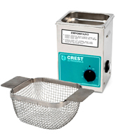Crest CP200 0.5 Gallon Ultrasonic Cleaner with Mesh Basket