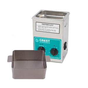 Crest CP200 0.5 Gallon Ultrasonic Cleaner with Perforated Basket