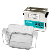 Crest CP230 0.75 Gallon Ultrasonic Cleaner with Perforated Basket