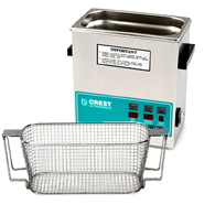 Crest CP360 1 Gallon Ultrasonic Cleaner with Mesh Basket