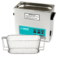 Crest CP500 1.5 Gallon Ultrasonic Cleaner with Mesh Basket