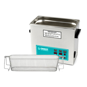 Crest CP500 1.5 Gallon Ultrasonic Cleaner with Perforated Basket