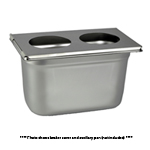 Crest SSBC360 Stainless Steel Beaker Cover for CP360 Cleaners
