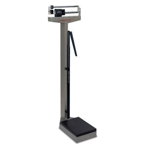 Detecto 339S 400 lb/175 kg Capacity Stainless Steel Scale & Height Rod