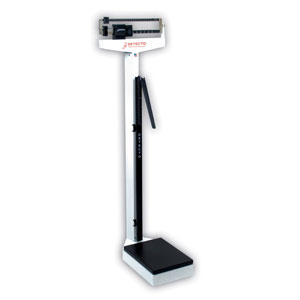 Detecto 349 Beam Scale w/ Height Rod/Hand Post-400 lb/175 kg Capacity