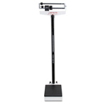 Detecto 438 Eye Level Beam Scale with Height Rod and Wheels