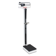 Detecto 449 Beam Scale w/ Height Rod & Hand Post-400 lb Capacity